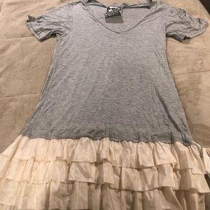 Young Fabulous &Broke T-shirt Ruffle Dress